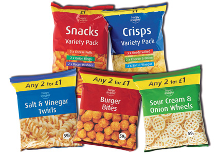 Five for Happy snackers