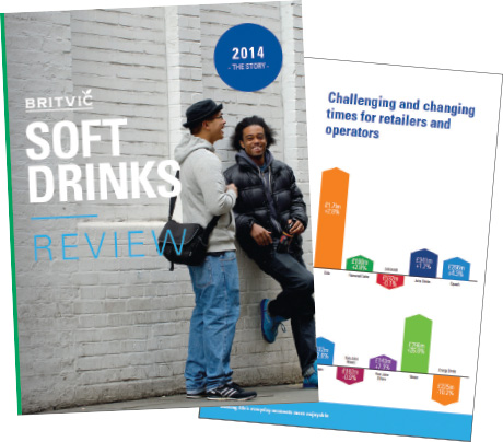 The 2015 edition of the Britvic Soft Drinks Review, telling the story of 2014, is available at www.britvic.com