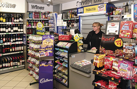 Harris's store in Kirkcaldy – pictured prior to the tobacco display ban.