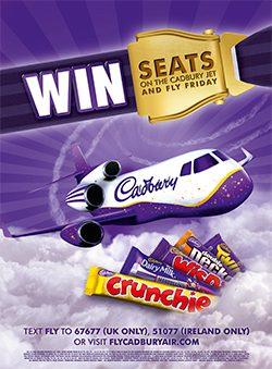 Fly Cadbury Air
