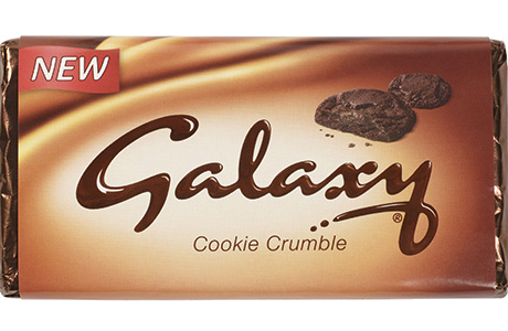 Galaxy cookie crumble large format