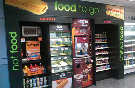 Coffee rollout scottish grocer convenience retailer for Cuisine to go