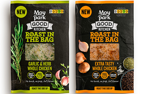 Moy Park First to Market with Innovative 'Roast in the Bag' Packaging