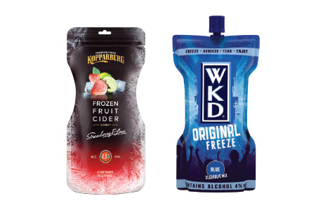 Drinks brands on icy mission