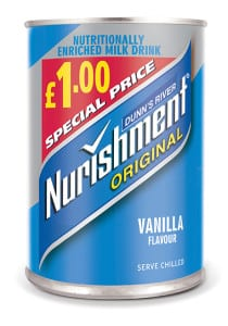 xNURISHMENT VANILLA £1 PMP