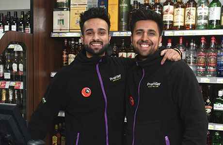 Mandeep and Sandeep Dhaliwal (above) are both delighted with the way their store now looks, how it functions and, best of all, the tremendous reaction from their customers, old and new, who have contributed to a marked increase in sales.