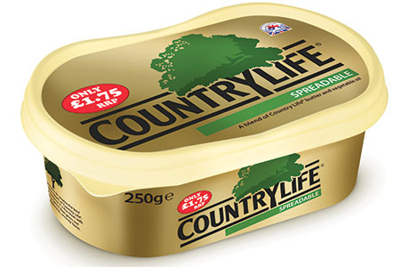 Butter is performing significangtly better than the butters, spreads and margarines market overall.