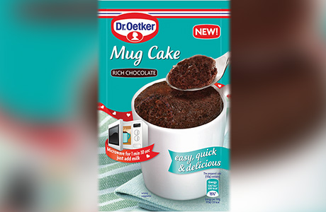 Quick cake in a cup