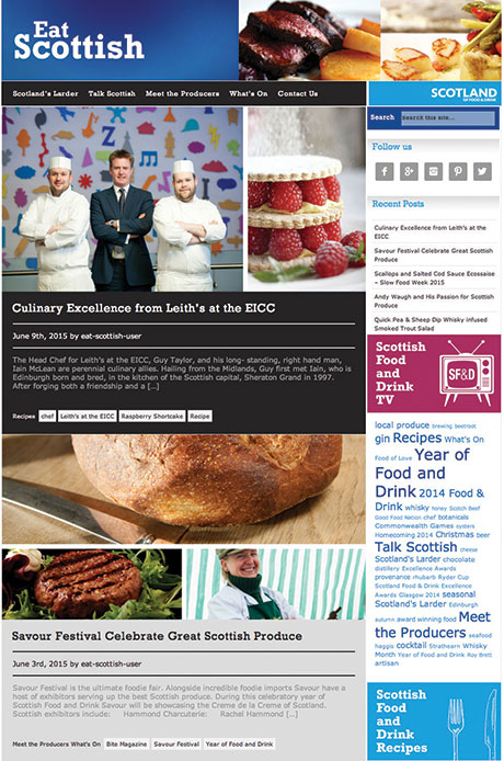 Find out more at www.scotlandfoodanddrink.org/yofd and keep up to date Scottish food at www.eat-scottish.co.uk
