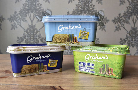 Predicting continuing growth for spreadable butter, which is says accounts for £3 of every £4 spent on butter, Graham's The Family Dairy is investing £1m to increase production capacity at its facility in Bridge of Allan.