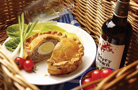 Merrydown Pork and egg pie ev