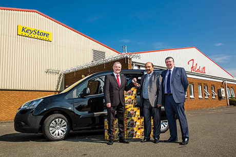 Van promo drives business