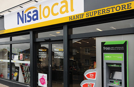 Scottish Nisa Store of the Future 2 format shop Hanif Superstore in Coatbridge, in North Lanarkshire, featured in SG's recent Fascia and Franchise guide.