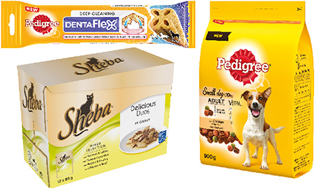 """Recent developments in the Mars Petcare range have included new Pedigree lines in small dog food and functional treats as well as """"little and often'' meals from Sheba."""