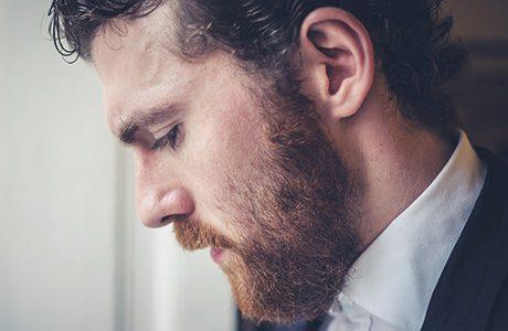 sh bearded male model June 15
