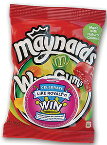Bagged sugar confectionery accounts for more than half of UK candy sales.