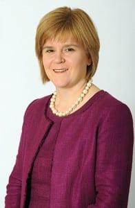 Nicolxa Sturgeon studio portrait smiling