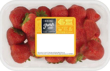Nisa Heritage July 15 strawberries