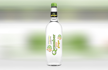 Qcumber with ginger 750ml copy