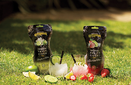 """""""The big innovation within the category this year is Kopparberg's frozen pouches,"""" reckons Nielsen. The analyst says it will be interesting to compare performances of frozen cider and frozen RTDs."""
