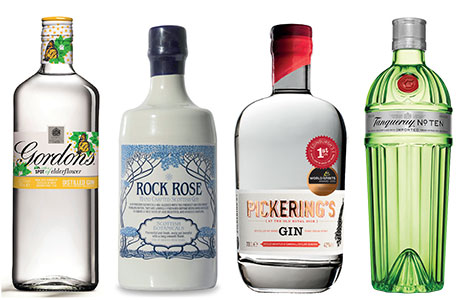 With new lines like Gordon's Elderflower and new brands, such as Rock Rose and Pickering's, joining more established names like Tanqueray on shelves, Scotland's gin market has become very diverse.