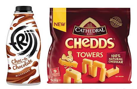 Snacking products are in demand in dairy as well as in other categories. Brand owner Dairy Crest says it's continually developing new snacking lines.