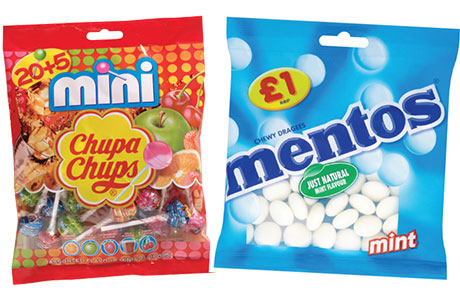 Perfetti Van Melle says Chupa Chups grew by 6.6% last year and it has launched a range of price-marked packs for its best-selling products including Mentos.
