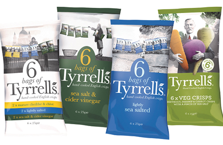 Tyrells Extends Multipack Offering