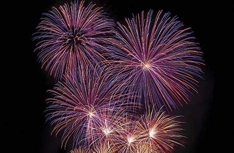 Fireworks change