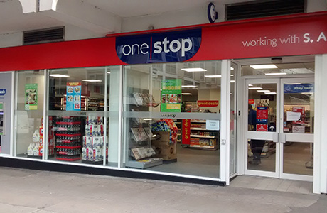 Sam Ali's new One Stop franchise store, next to Strathclyde University's main campus at George Street in Glasgow city centre. She is already thinking about a second store, she said.