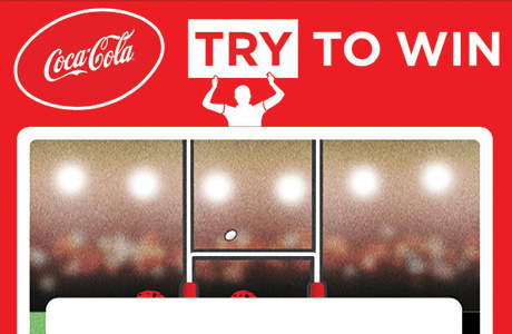 Coke range says 'Game on!'