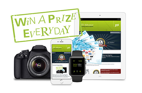 A Prize a Day from JTI Advance