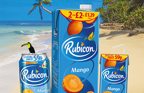 AG Barr launches £2M campaign for Rubicon