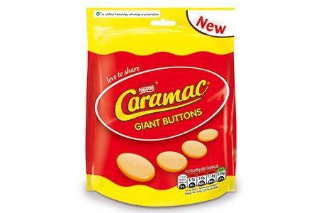 Caramac launches new sharing bag