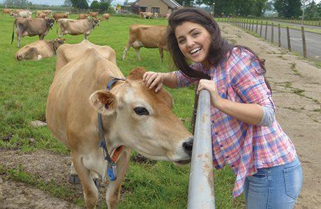 Dairy family stars on TV