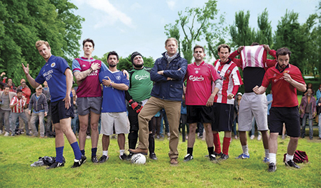 Former Manchester United goalkeeper Peter Schmeichel and Sky Sports presenter Jeff Stelling star in the latest  Carlsberg TV ad, launched to mark the start of the new football season.