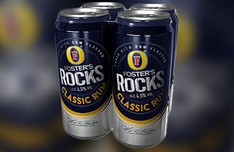 Foster's rocks unleashes new campaign