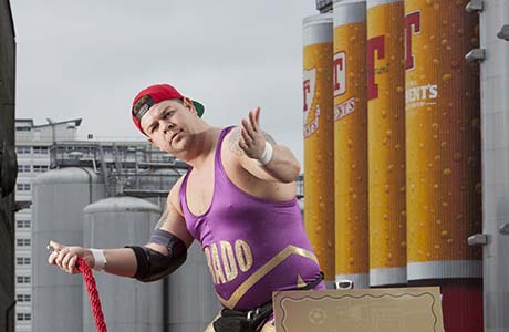 Tennent's Lager opens doors for promo