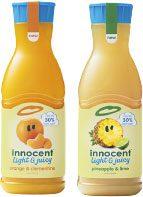Lower sugar Light & Juicy from Innocent.