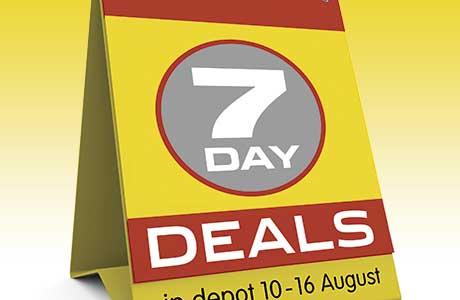 Deals and more deals