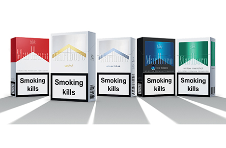 New Denver cigarettes Marlboro labels