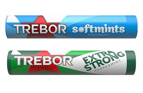 Trebor unveils fresh new pack design