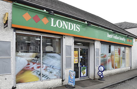 Javid Iqbal's Londis store (above) officially reopened as Blackburn's new One Stop (below) in October.