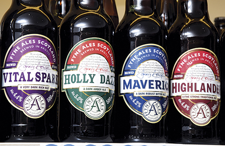 The store features a remarkable drinks range that includes wines at all price points and it has a strong reputatation for craft and traditional beer.