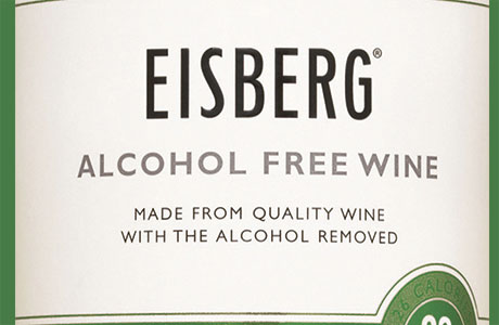 Eisberg blancs out the alcohol