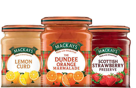 Mackays, the Dundee-based preserves manufacturer saw profit jump by  13.7% in 2014.