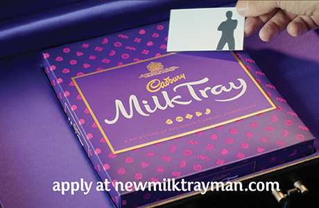 Seeking a new Milk Tray man