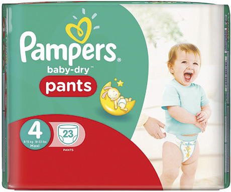 Pampers  has launched new baby-Dry Pants