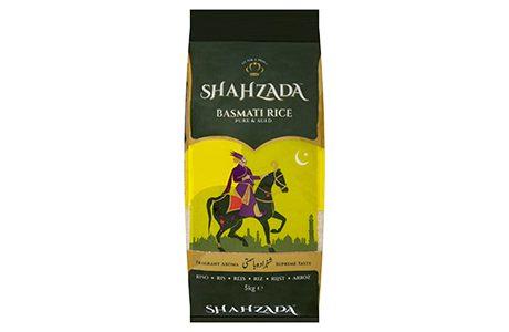 Royal return for Shahzada rice