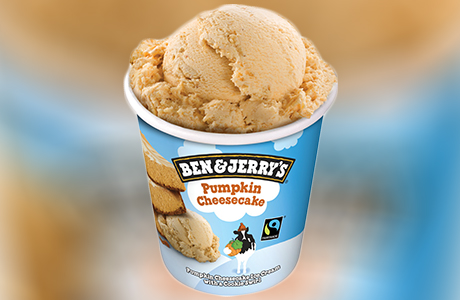Pumpkin Ice Cream Launched for Halloween
